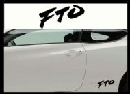 MITSUBISHI FTO CAR BODY DECALS